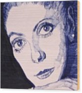Portrait Of Catherine Wood Print