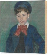 Portrait Of Charles Dikran Kelekian Wood Print