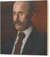 Portrait Of Charles Gruppe 1904 Wood Print