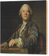 Portrait Of Christoph Willibald Ritter Von Gluck Wood Print