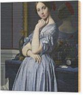 Portrait Of Comtesse D'haussonville Wood Print