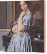 Portrait Of Countess D Haussonville Wood Print
