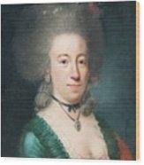 Portrait Of Countess Sparre Wood Print