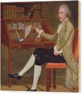 Portrait Of David Baldwin 1790 Wood Print
