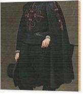 Portrait Of Don Pedro De Barberana Diego Rodriguez De Silva Y Velazquez Wood Print