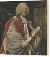 Portrait Of Dr. John Thomas Wood Print