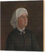 Portrait Of Elseberg Herrestvedt Wood Print