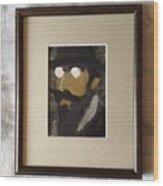 Portrait Of Erik Satie Wood Print