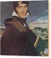 Portrait Of Francois Marius Granet Wood Print