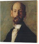 Portrait Of Frank B A Linton 1904 Wood Print