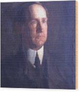 Portrait Of Frank Lindsay Greenwalt 1903 Wood Print