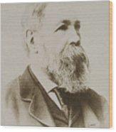 Portrait Of Friedrich Engels Wood Print