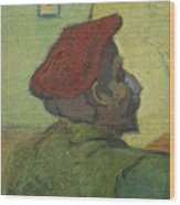 Portrait Of Gauguin Arles December 1888 Vincent Van Gogh 1853  1890 Wood Print