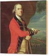 Portrait Of General Thomas Gage Wood Print