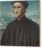 Portrait Of Girolamo Benivieni Wood Print