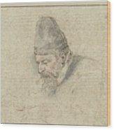 Portrait Of Henry Avercamp Wood Print