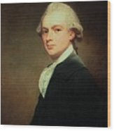 Portrait Of Henry Russell Wood Print