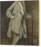 Portrait Of Jan Lepeltak Wood Print