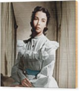 Portrait Of Jennie, Jennifer Jones, 1948 Wood Print