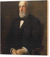 Portrait Of John B Gest Wood Print