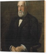 Portrait Of John Gest Wood Print