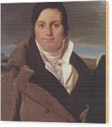 Portrait Of Joseph Antoine Moltedo Wood Print