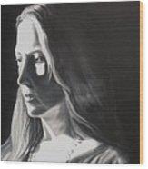 Portrait Of Leah S. Wood Print