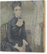 Portrait Of Leonie Rose Charbuy-davy Paris  March  April 1887 Vincent Van Gogh 1853  1890 Wood Print