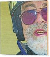 Portrait Of Lou Wood Print