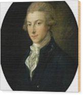 Portrait Of Louis Wood Print