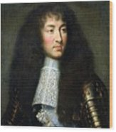 Portrait Of Louis Xiv Wood Print
