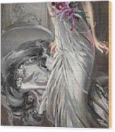 Portrait Of Madame Eugene Doyen Wood Print
