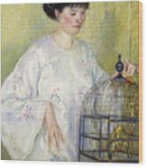 Portrait Of Madame Frieseke Wood Print