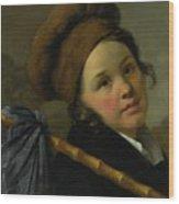 Portrait Of Mademoiselle Wood Print
