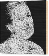 Portrait Of Margot  Wood Print