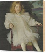 Portrait Of Marjorie Coldwell Westinghouse  Wood Print