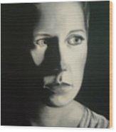 Portrait Of Michelle C. #2 Wood Print