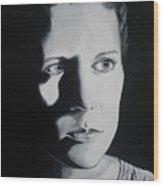 Portrait Of Michelle C. Wood Print