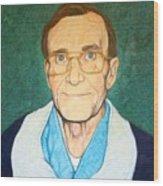 Portrait Of Mr. Roy Moore Wood Print