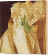 Portrait Of Mrs Eben Richards Anders Zorn Wood Print