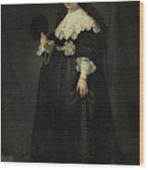 Portrait Of Oopjen Coppit Wood Print