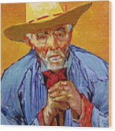 Portrait Of Patience Escalier Wood Print