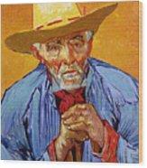 Portrait Of Patience Escalier Wood Print by Vincent van Gogh