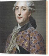 Portrait Of Prince Vladimir Golitsyn Borisovtj Wood Print