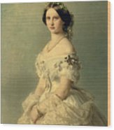 Portrait Of Princess Of Baden Wood Print