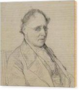 Portrait Of Sir Drack Wood Print