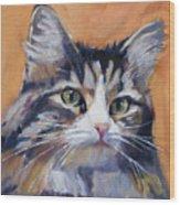 Portrait Of Squeaky Wood Print