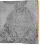 Portrait Of Susanne Von Brandenburg Ansbach Wood Print