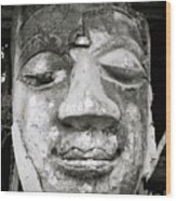 Portrait Of The Buddha Wood Print