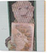 Portrait Of The Oddist Wood Print